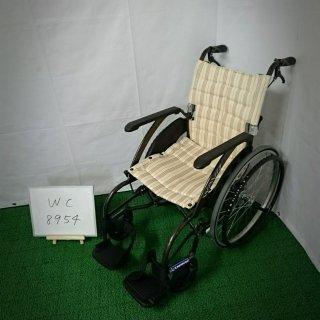 【Aランク 中古 車椅子】カワムラサイクル 自走式車椅子 ウェイビット WA22-40S(WC-8954)