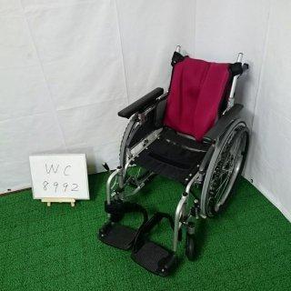 【Bランク 中古 車椅子】日進医療器 自走式車椅子 座王 NA-506W(WC-8992)