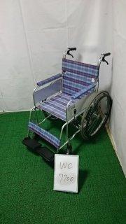 【Aランク 中古 車椅子】ミキ 自走式車椅子 ライト M-43K (WC-7700)