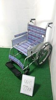 【Aランク 中古 車椅子】ミキ 自走式車椅子 ライト M-43K (WC-7700-2)