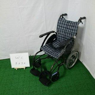 【Aランク 中古 車椅子】カワムラサイクル 介助式車椅子 ウェイビット WA16-40S (WC-9030)