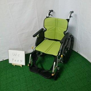 【Aランク品 中古 車椅子】松永製作所 自走式車椅子 ネクストコア NEXT-11B (WC-9034)