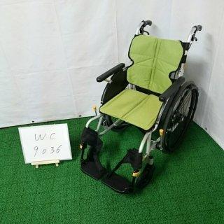 【Aランク品 中古 車椅子】松永製作所 自走式車椅子 ネクストコア NEXT-11B (WC-9036)