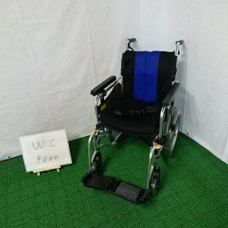 【Bランク 中古 車椅子】 ミキ 介助式 車椅子 MYU4-16 (WC-9000)