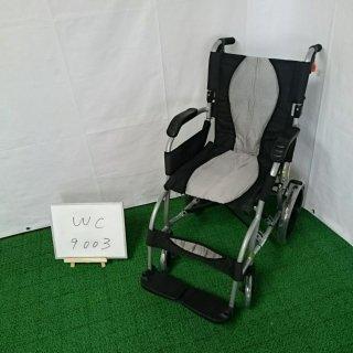 【Aランク 中古 車椅子】 ラックヘルスケア 介助式車椅子 エルゴライト 39213001  (WC-9003)