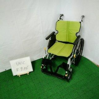 【Aランク品 中古 車椅子】松永製作所 自走式車椅子 ネクストコア NEXT-11B (WC-8906)