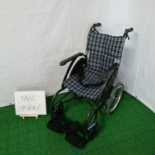 【Bランク 中古 車椅子】カワムラサイクル 介助式車椅子 ウェイビット WA16-40S (WC-9031)