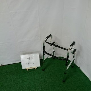 【Aランク品 中古 歩行器】シンエンス スリム立ち上がりフレームウォーカー固定型 WFM-4968R (HK-3501)