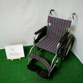 【Aランク 中古 車椅子】日進医療器 自走式車椅子 NEO-1 (WC-9085)