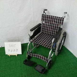【Bランク 中古 車椅子】日進医療器 自走式車椅子 NC-1CB (WC-9089)
