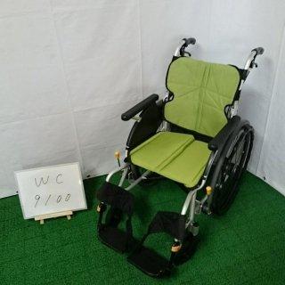 【Aランク品 中古 車椅子】松永製作所 自走式車椅子 ネクストコア NEXT-11B (WC-9100)