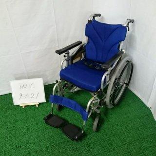 【Aランク 中古 車椅子】カワムラサイクル 自走式車椅子 KZM22-40 (WC-9121)