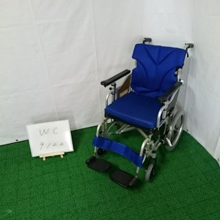 【Aランク品 中古 車椅子】カワムラサイク 介助式車椅子 KZM16-40(WC-9122)