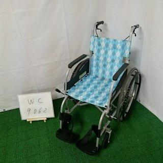 【Bランク 中古 車椅子】カワムラサイクル 自走式車椅子 ふわりすKF22-40SB (WC-9062)