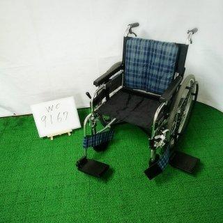 【Bランク 中古 車椅子】ミキ 自走式車椅子 MYU226JDSW (WC-9167)