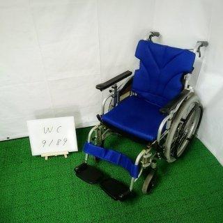 【Bランク 中古 車椅子】カワムラサイクル 自走式車椅子 KZ20-40 (WC-9189)