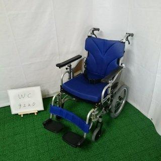 【Aランク品 中古 車椅子】カワムラサイクル 介助式車椅子 KZ16-42(WC-9220)