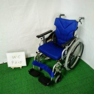 【Aランク 中古 車椅子】カワムラサイクル 自走式車椅子 KZM22-40 (WC-9215)
