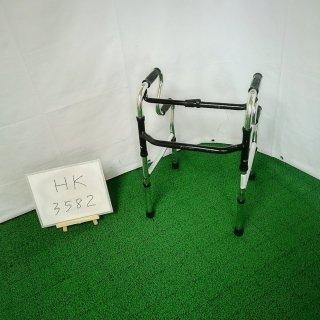 【Aランク品 中古 歩行器】シンエンス スリム立ち上がりフレームウォーカー固定型 WFM-4968R (HK-3582)