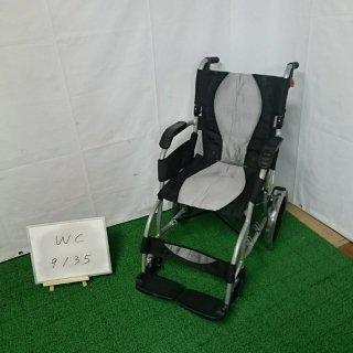 【Aランク 中古 車椅子】 ラックヘルスケア 介助式車椅子 エルゴライト 39213001  (WC-9135)