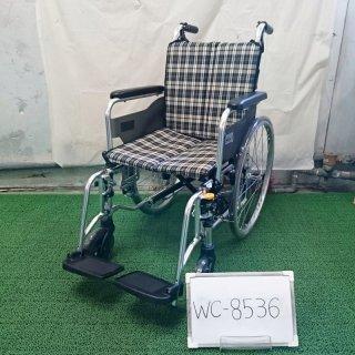 【Bランク 中古 車椅子】ミキ 自走式車椅子 SKT-4LO (WC-8536)