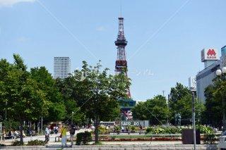 札幌大通り公園 テレビ塔 平成28年