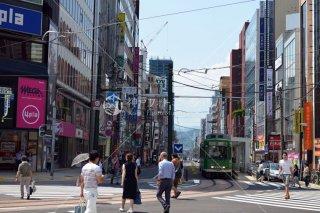 札幌 南1西4 大倉山方面 平成28年