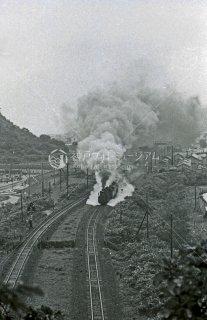 室蘭本線 室蘭〜母恋鉄道 D51貨物列車 昭和48 1973