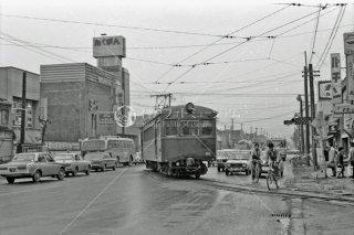 旭川電気軌道 旭川四条駅 1972年 5月