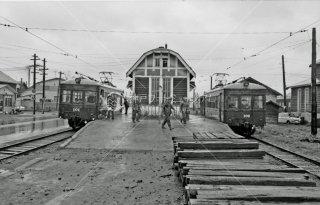 旭川電気軌道 旭川追分駅 1972年 5月
