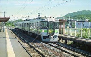 函館本線 稲穂 721系 快速マリンライナー 平成5年6月