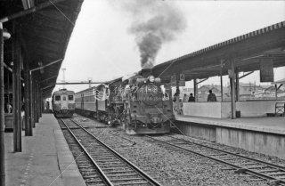 釧路駅 右C58395 1972年5月