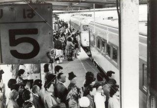 留萌本線 留萌駅 急行るもい 2両+留萌駅より1両増結 国鉄 昭和55年1980年
