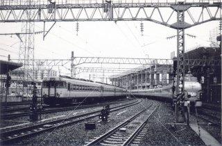 仙台駅 DC急行&特急ひばり 新幹線工事中 昭和52 1977