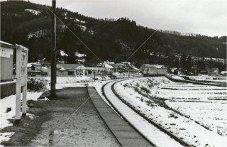 矢島線 羽後川辺駅 由利高原鉄道 秋田 昭和53 1978