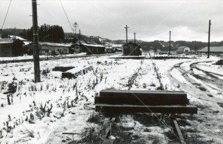 矢島線 終点 矢島駅 由利高原鉄道 秋田 昭和53 1978