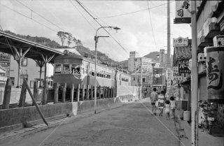 1973年8月 庄内交通 湯野浜線 湯野浜温泉駅