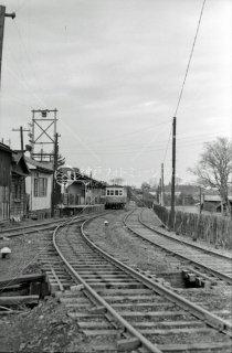 1964年12月 鹿島参宮鉄道 竜ヶ崎線 佐貫駅キハ4132(元国鉄キハ0436)