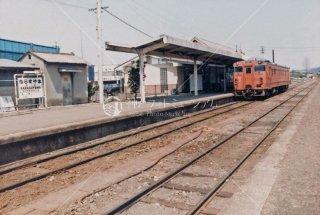 栃木県 烏山線 烏山駅 国鉄 昭和58年1983年 DC