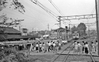上毛電気鉄道 大胡駅 1979年7月