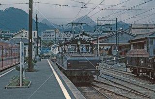 上信電鉄 下仁田駅 1979年7月