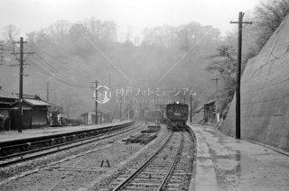信越本線 熊ノ平駅 1962年2月