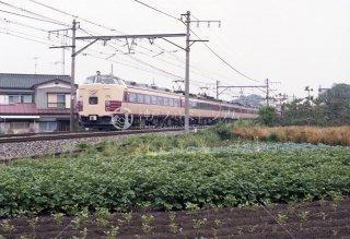 東北本線 東大宮〜蓮田 L特急つばさ 昭和57年 1982