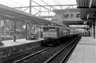 上尾駅 1975年7月