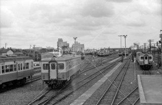 千葉気動車区 1966年6月