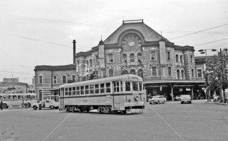 都電 東京駅丸ノ内北口 31系統3094 1967年11月