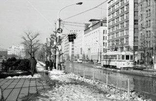 馬場先門停留所 35系統6235 1968年2月
