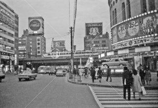 都電 数寄屋橋 日劇ビル 1967年11月