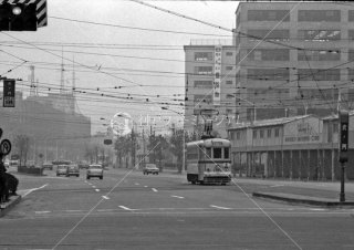 都電 虎ノ門停留所 8系統 1967年11月