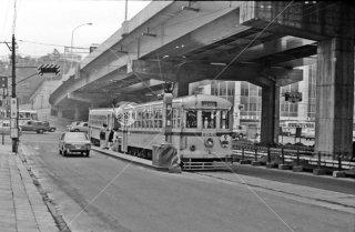 溜池停留所 9系統6154 1967年11月